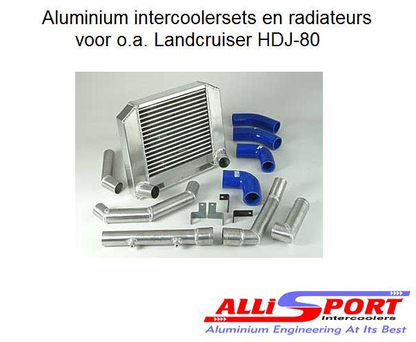 aluminium radiateurs en intercoolersets. Black Bedroom Furniture Sets. Home Design Ideas