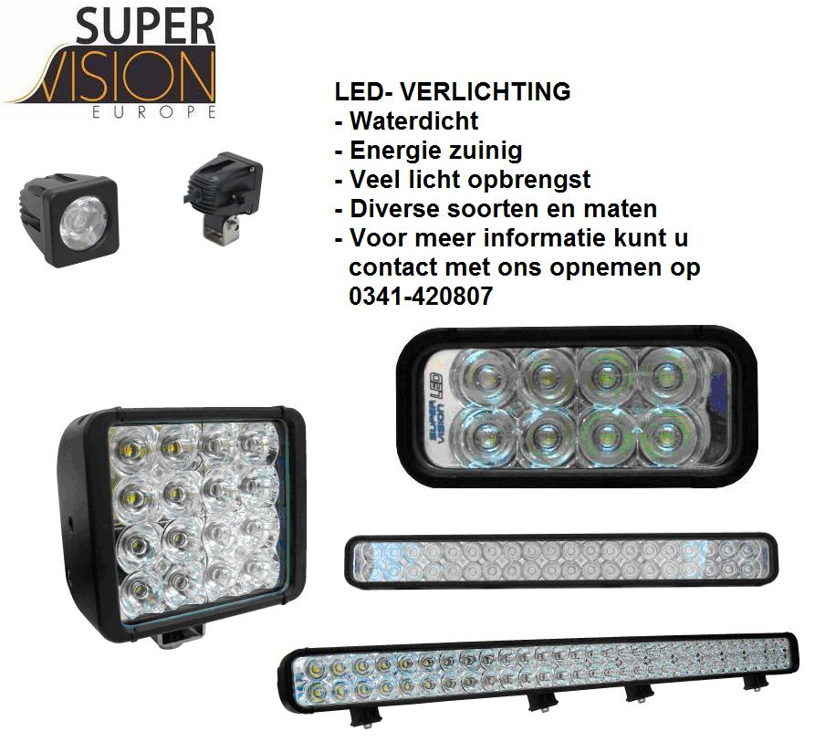 Super vision led verlichting for Led lampen auto
